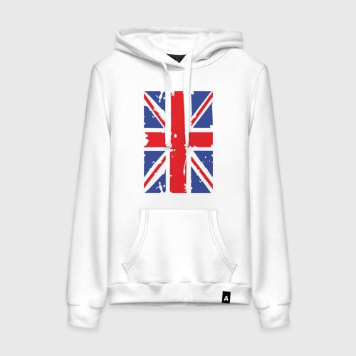 Женская толстовка хлопок Британский флаг