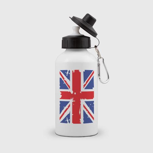 Бутылка спортивная Британский флаг