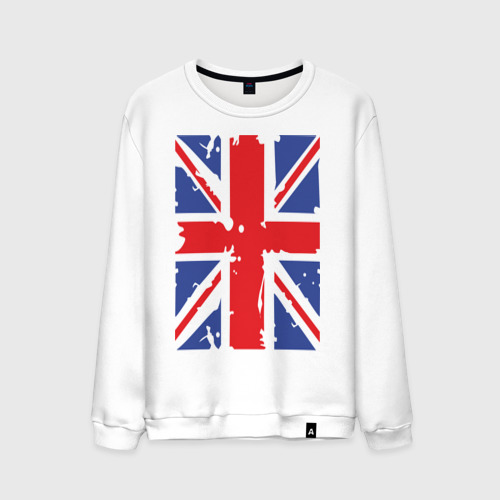 Мужской свитшот хлопок Британский флаг
