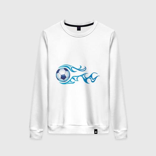 Женский свитшот хлопок Football Blue