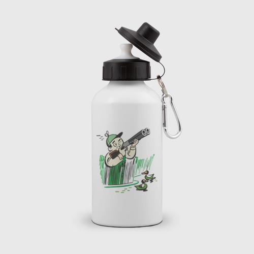Бутылка спортивная Охота на дичь