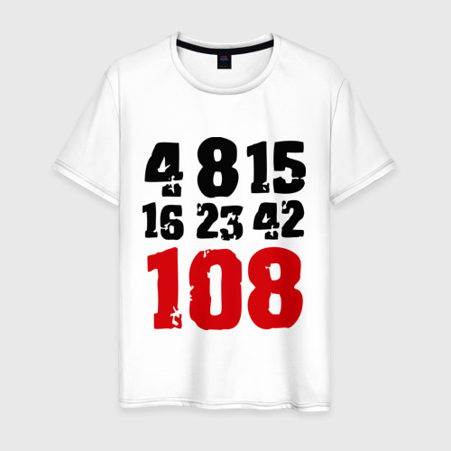 Мужская футболка хлопок LOST (5)