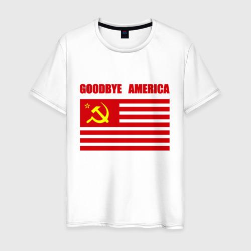 Мужская футболка хлопок Goodbye America