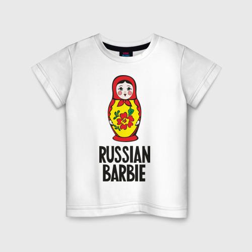 Детская футболка хлопок Russian Barbie