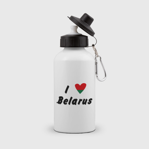 Бутылка спортивная I love Belarus