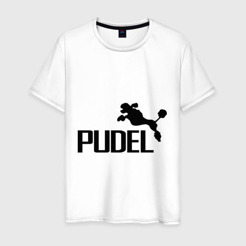 Мужская футболка хлопок PUDEL