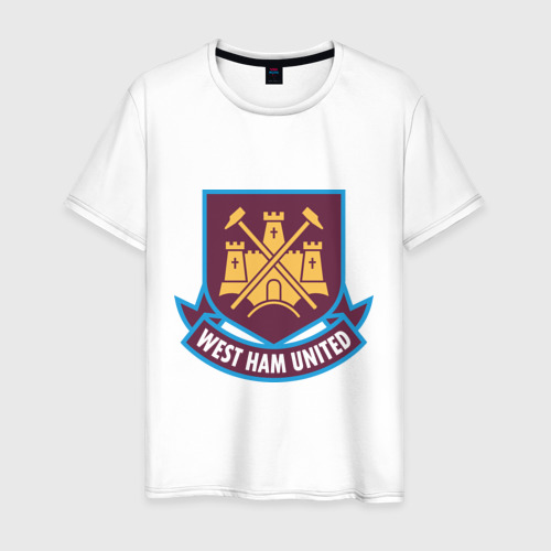 Мужская футболка хлопок FA Premier League-West Ham United