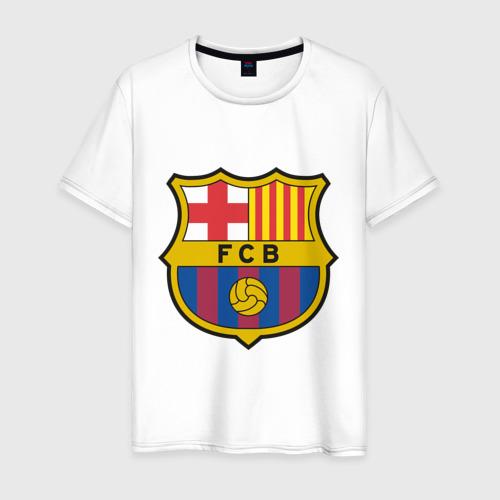 Мужская футболка хлопок Spanish Primera. FC Barсelona