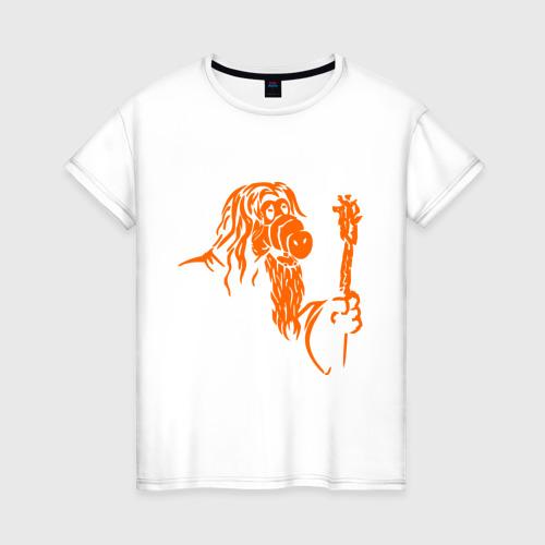 Женская футболка хлопок Мастер альф