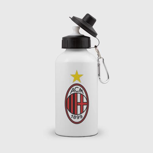 Бутылка спортивная Italian Serie A. AC Milan