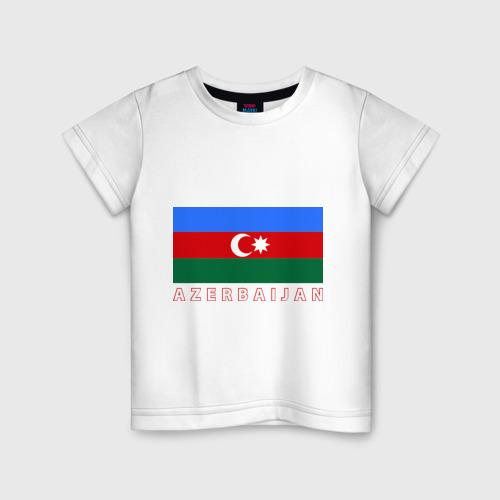Детская футболка хлопок Азербайджан