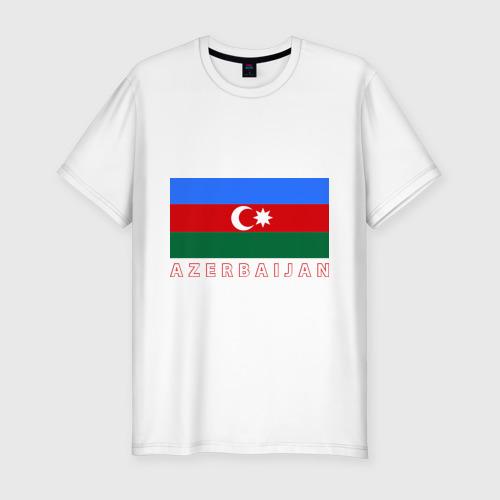 Мужская футболка хлопок Slim Азербайджан