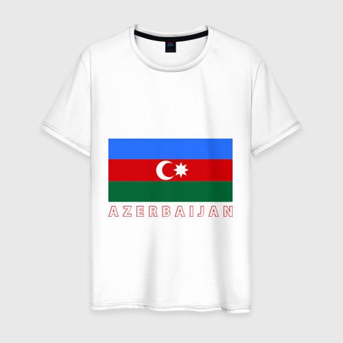 Мужская футболка хлопок Азербайджан
