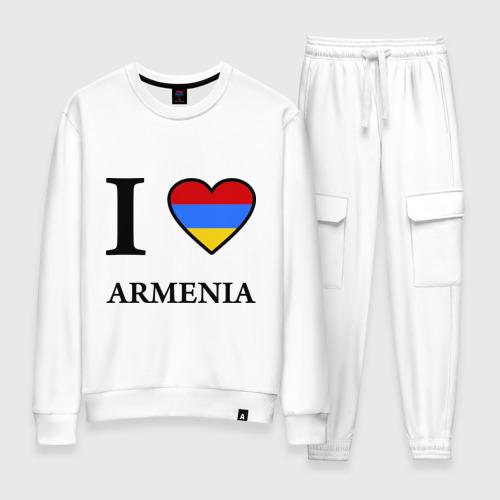 Женский костюм хлопок I love Armenia