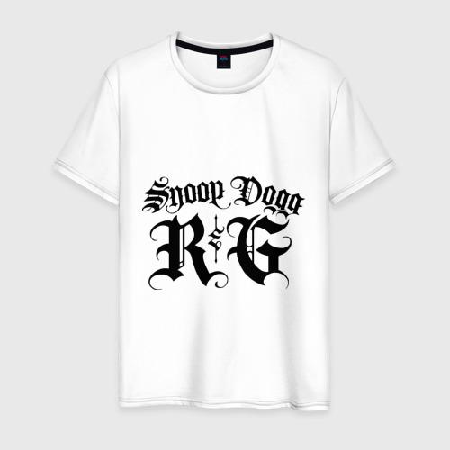 Мужская футболка хлопок Snoop dog (5)