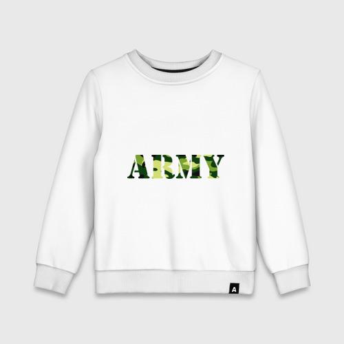 Детский свитшот хлопок Army