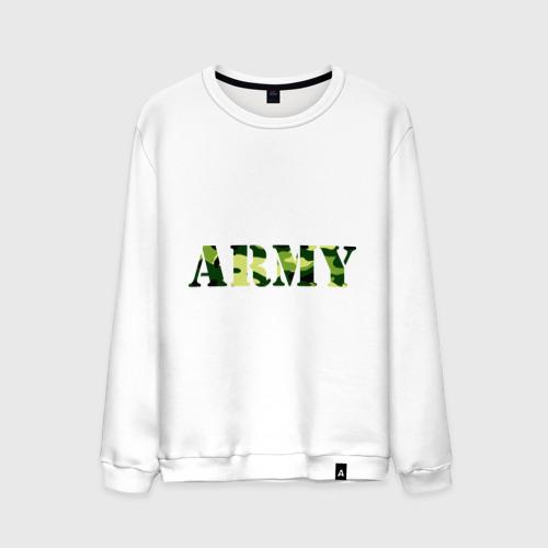 Мужской свитшот хлопок Army