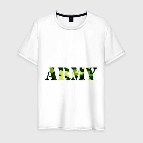 Мужская футболка хлопок Army