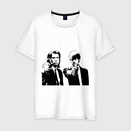 Мужская футболка хлопок Криминальное чтиво (2)