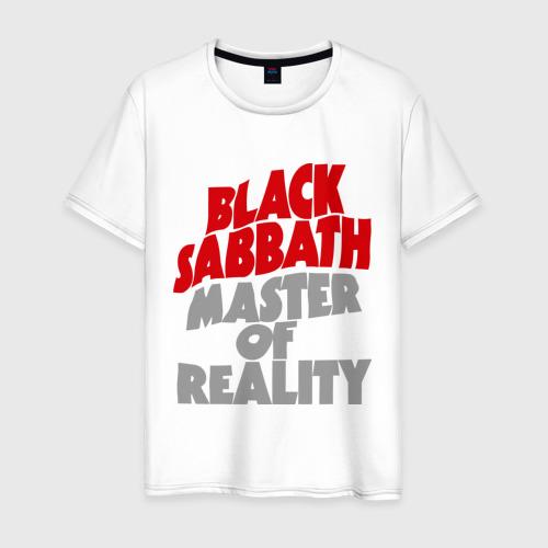 Мужская футболка хлопок Black Sabbath. Master of reality