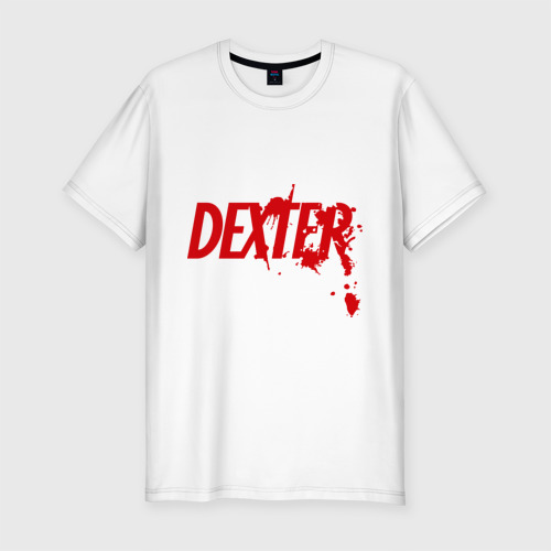 Мужская футболка хлопок Slim Dexter - Декстер