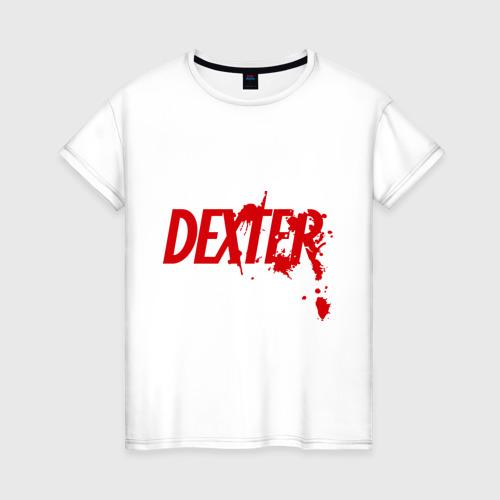 Женская футболка хлопок Dexter - Декстер