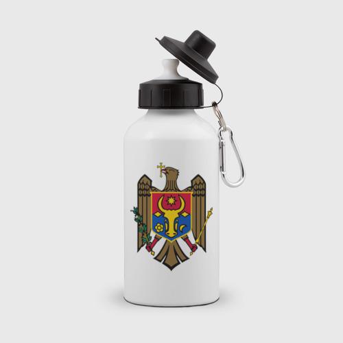 Бутылка спортивная Молдавия герб