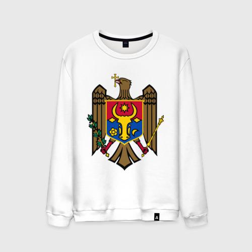 Мужской свитшот хлопок Молдавия герб