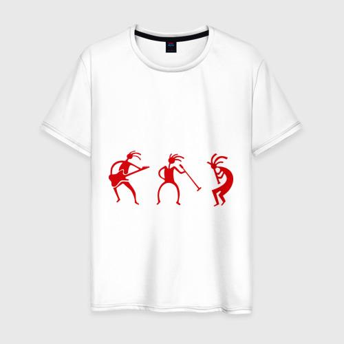 Мужская футболка хлопок Рок - музыканты