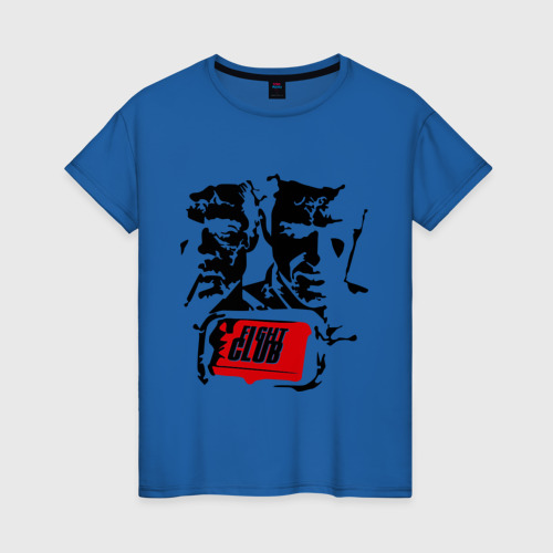 Женская футболка хлопок Бойцовский Клуб (2)