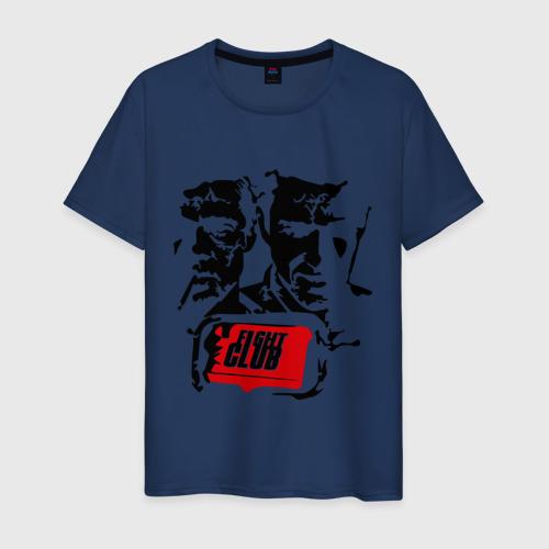 Мужская футболка хлопок Бойцовский Клуб (2)