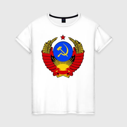 Женская футболка хлопок СССР (5)