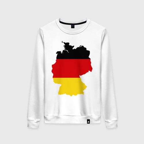 Женский свитшот хлопок Германия (Germany)