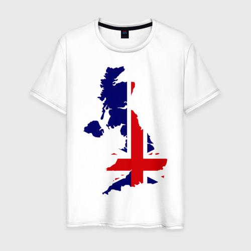 Мужская футболка хлопок Великобритания (Great Britain)