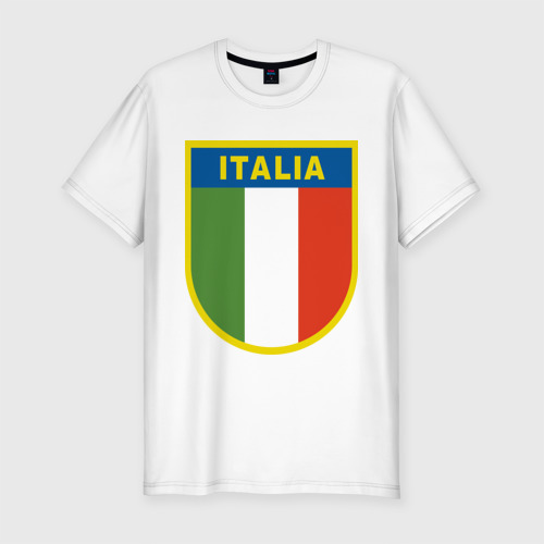 Мужская футболка хлопок Slim Италия