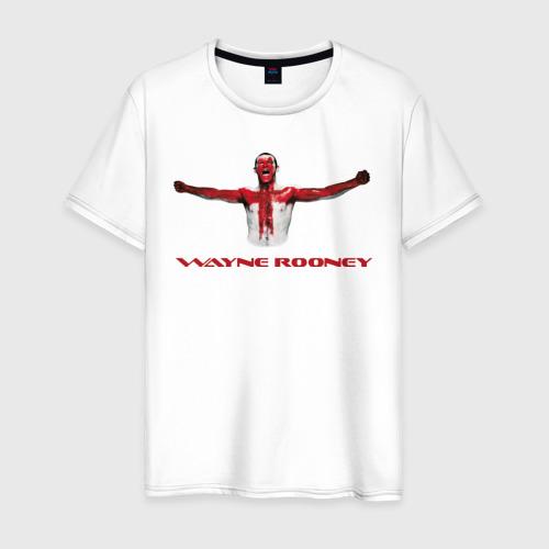 Мужская футболка хлопок Wayne Rooney