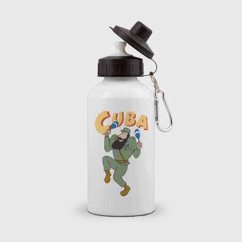 Бутылка спортивная Cuba - Fidel Castro