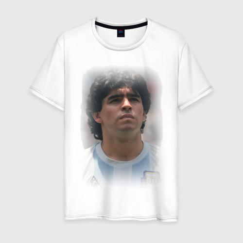 Мужская футболка хлопок Diego Maradona (2)