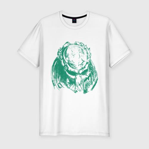 Мужская футболка хлопок Slim Хищник