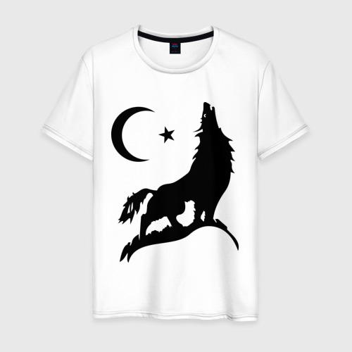 Мужская футболка хлопок Кавказ (3)