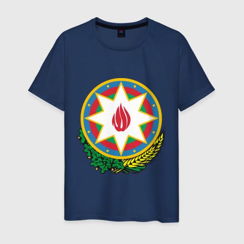Мужская футболка хлопок Азербайджан герб