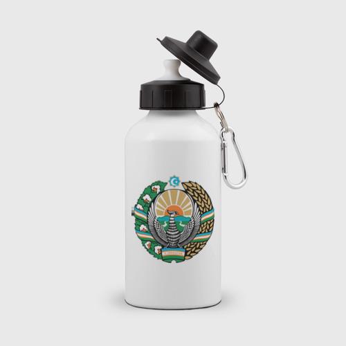 Бутылка спортивная Узбекистан герб