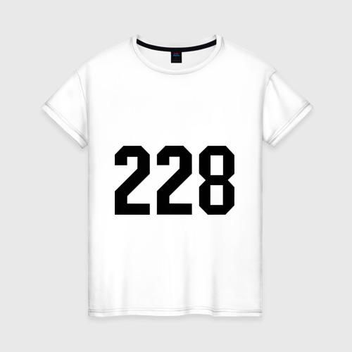 Женская футболка хлопок 228 (4)