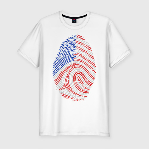 Мужская футболка хлопок Slim Made in USA