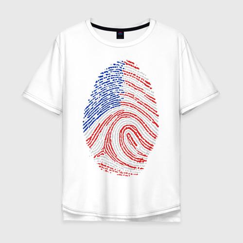 Мужская футболка хлопок Oversize Made in USA
