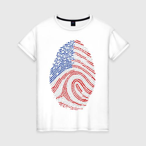 Женская футболка хлопок Made in USA