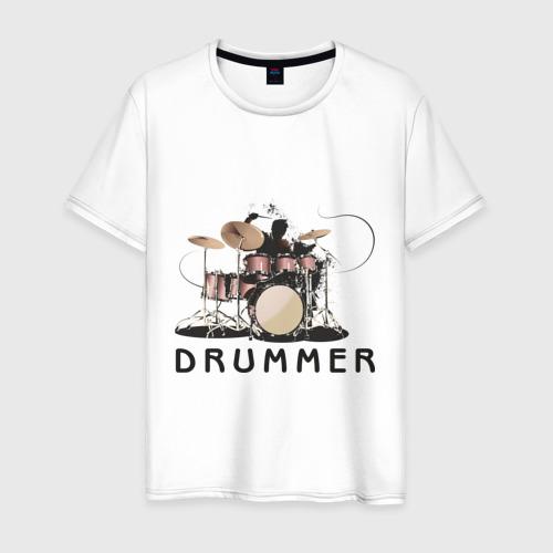 Мужская футболка хлопок Drummer