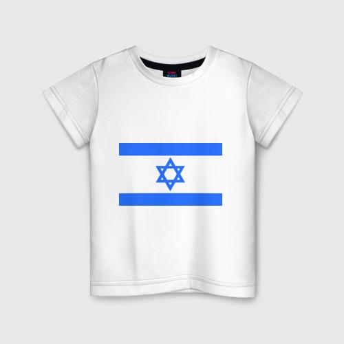 Детская футболка хлопок Флаг Израиля
