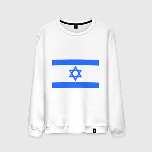 Мужской свитшот хлопок Флаг Израиля