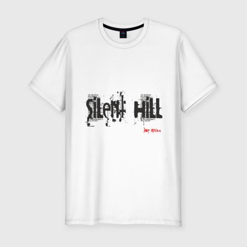 Мужская футболка хлопок Slim Sillent Hill
